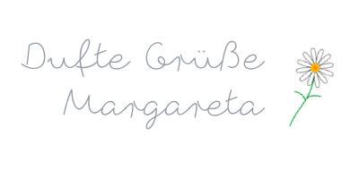 Dufte Grüsse, Margareta