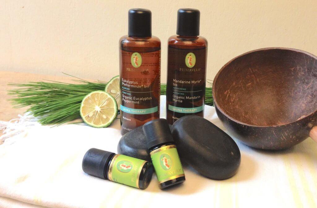 Sauna Rezepte mit ätherischen Ölen