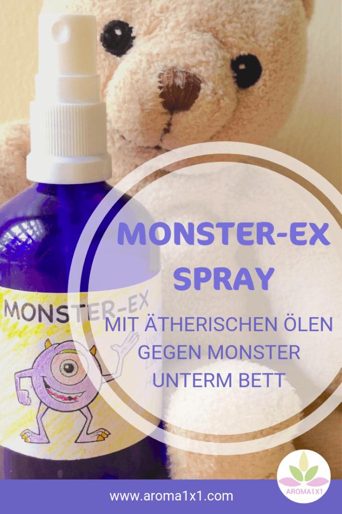 ätherische Öle gegen Monster unterm Bett