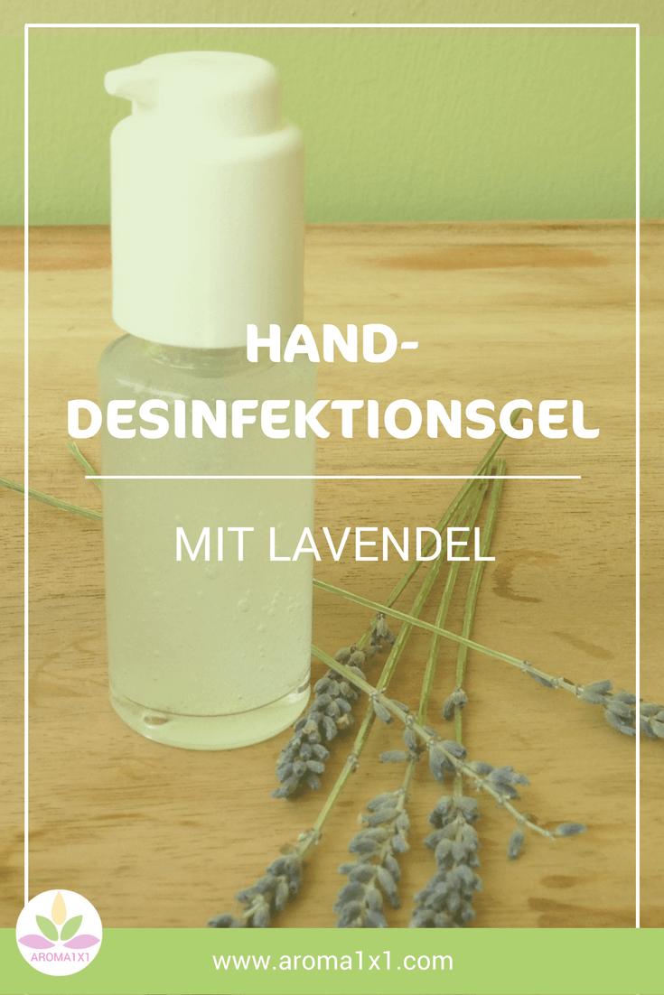 Hand Desinfektionsgel selbermachen