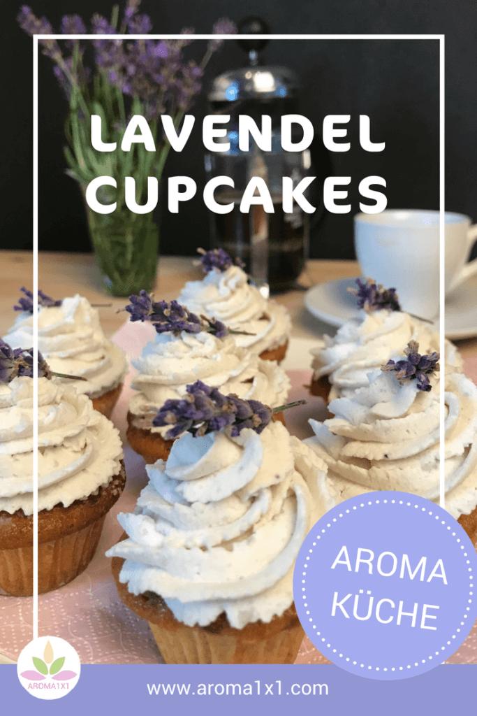 Lavendel Cupcakes Rezept