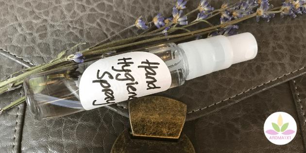 Hand Desinfektions Spray selber machen