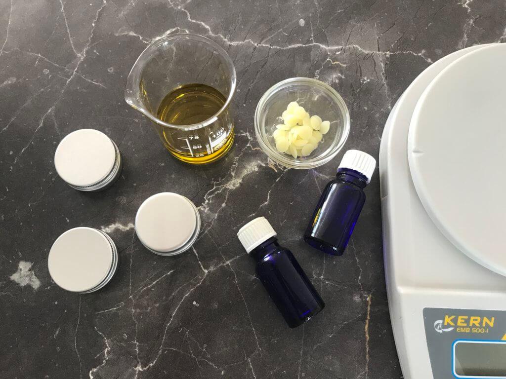 Fieberblasen Balsam selbermachen Zutaten