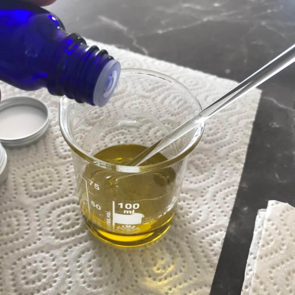 Fieberblasen Balsam selbermachen ätherische Öle