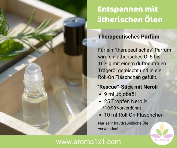 Rezept Therapeutisches Parfüm Roll On