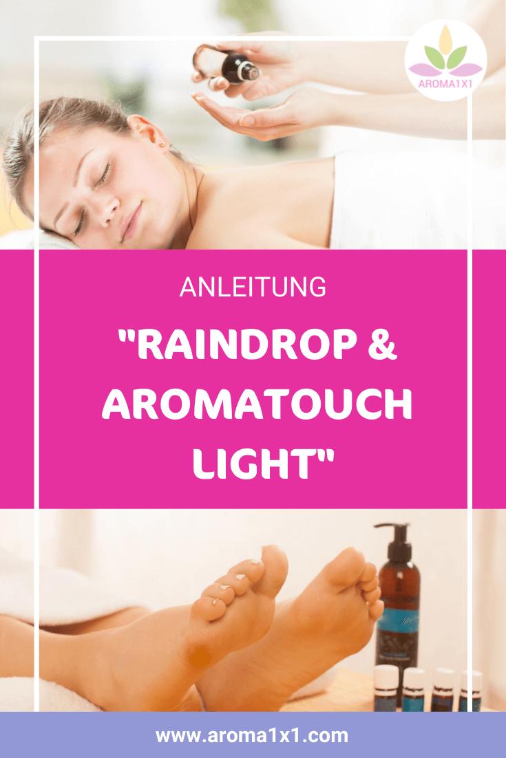 Raindrop Aromatouch light Anleitung
