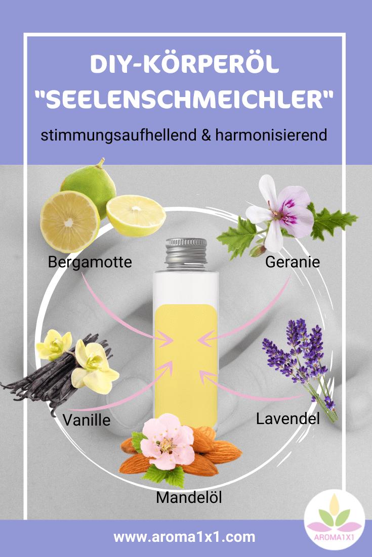 Körperöl ätherische Öle selbermachen