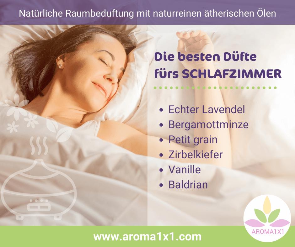 ätherische Öle für Einschlafen Durchschlafen
