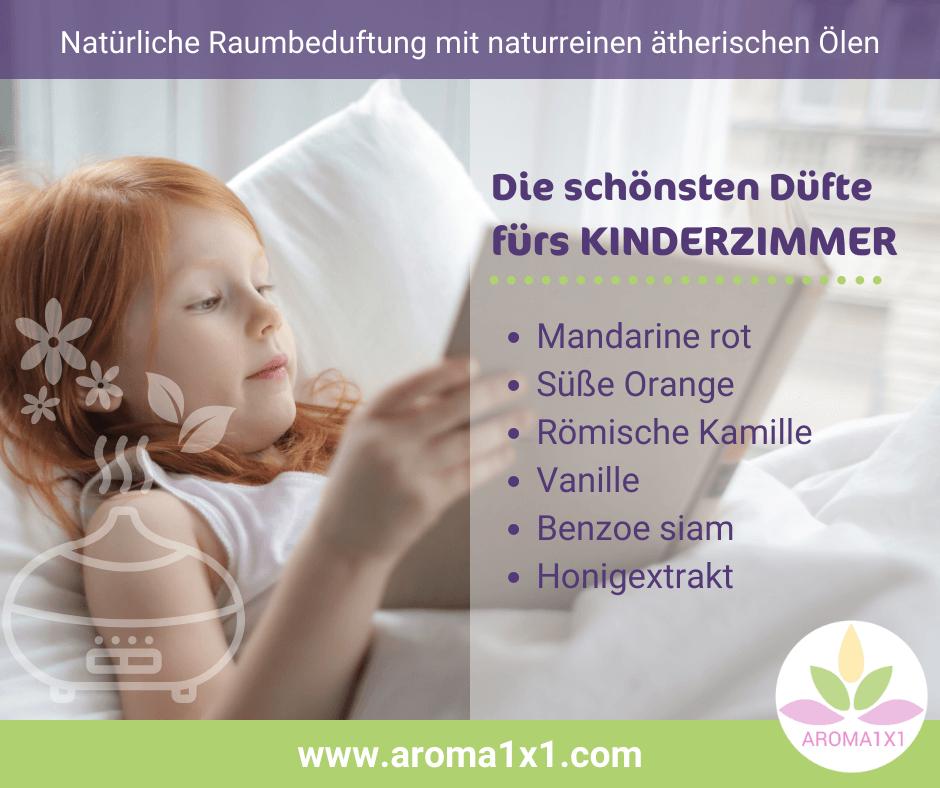 ätherische Öle fürs Kinderzimmer