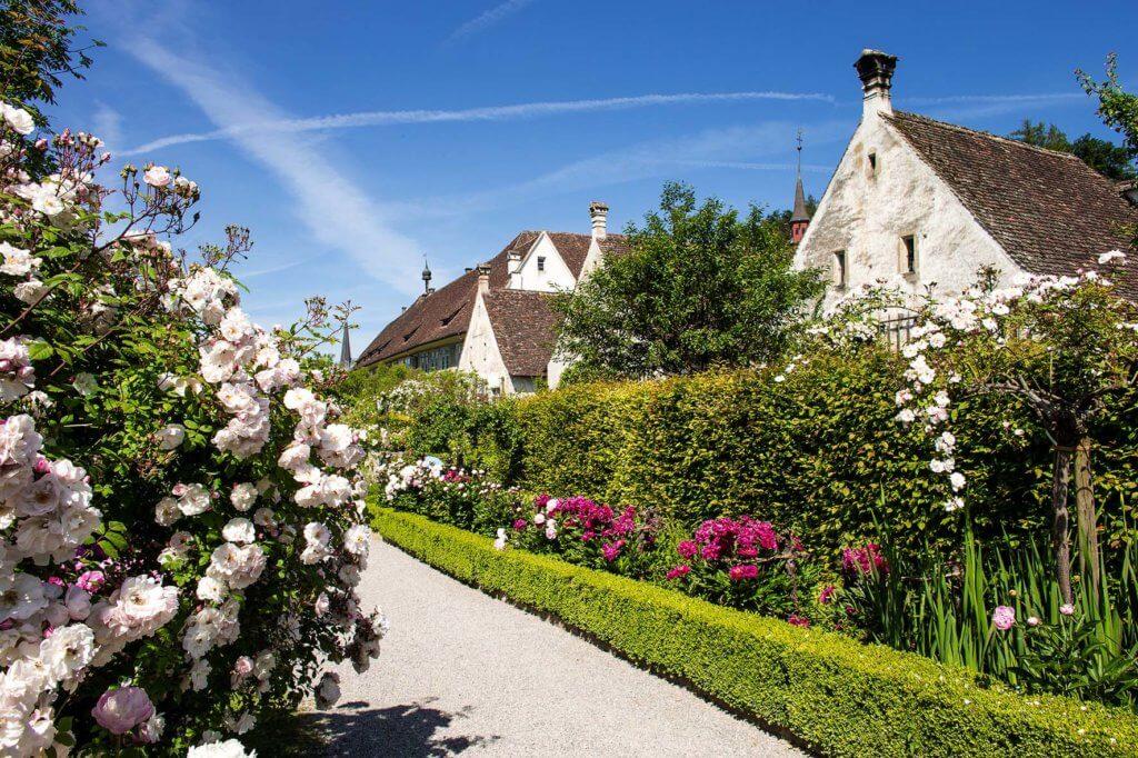 die schönsten Rosengärten Kartause Ittingen Aromareise