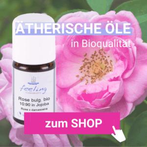 Rosenöl ätherisch bulgarisch bio in Jojobaöl