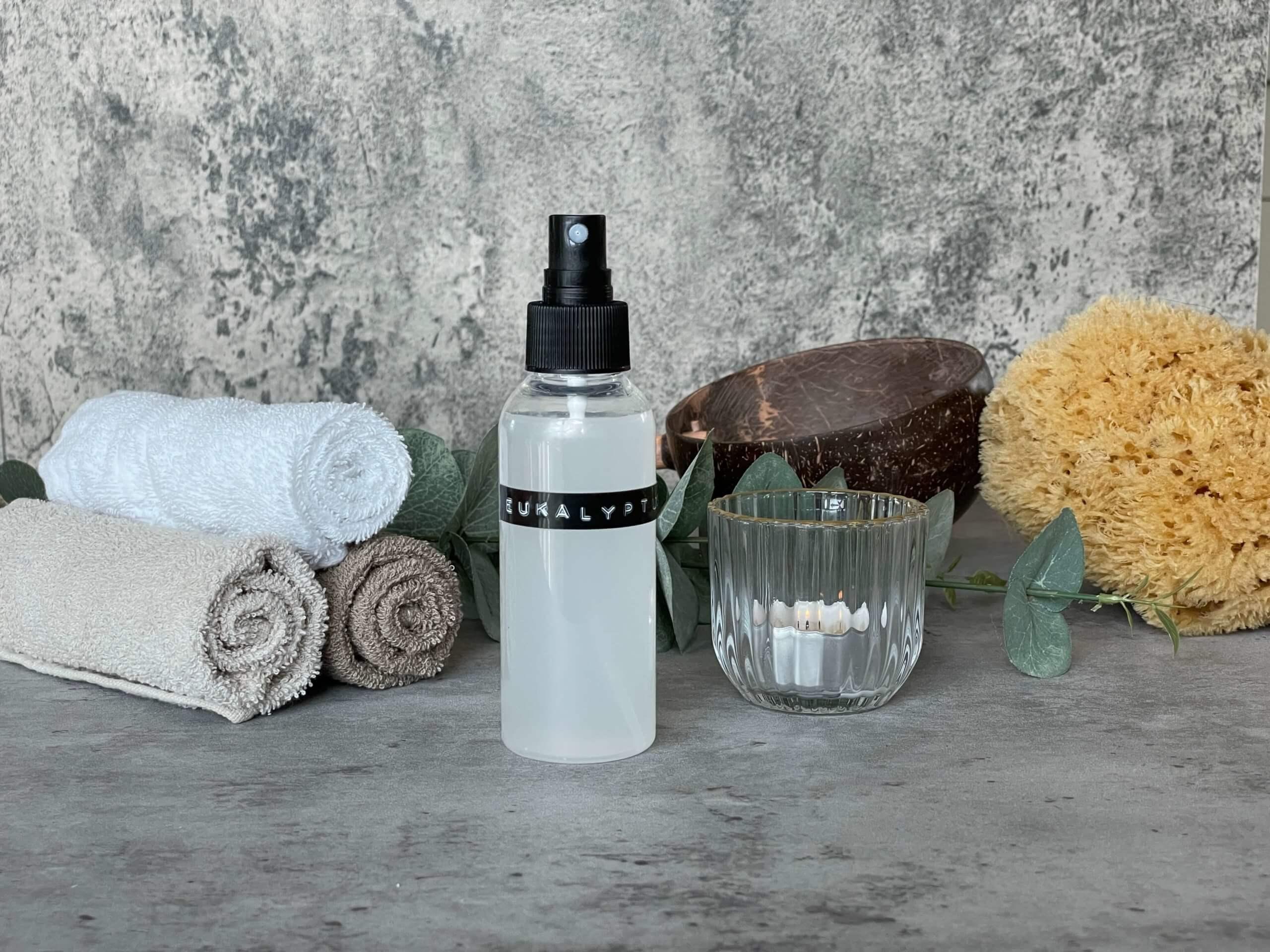 Sauna-Spray mit ätherischen Ölen selbermachen